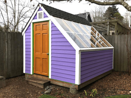 The $20 door pre-paint stripping & Customer Project: Shed Door Upgrade | Second Use