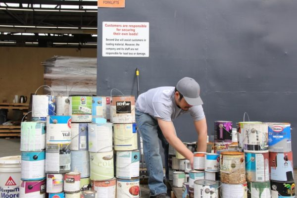 Recycle Latex Paint At Second Use Second Use